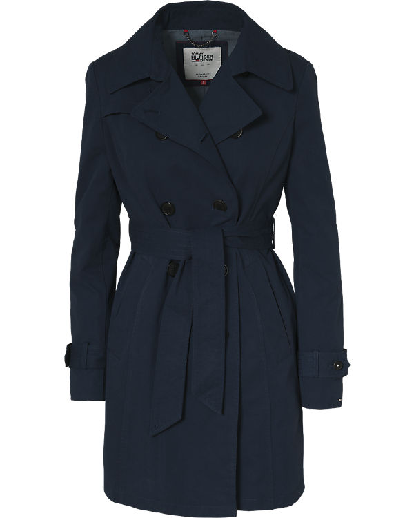HILFIGER DENIM Trenchcoat blau