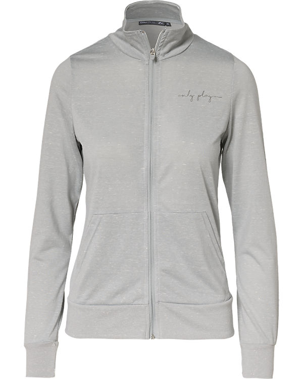Only Play Sweatjacke grau