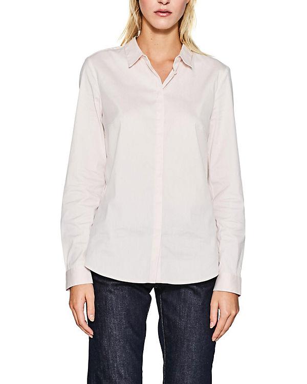 ESPRIT collection Bluse rosa