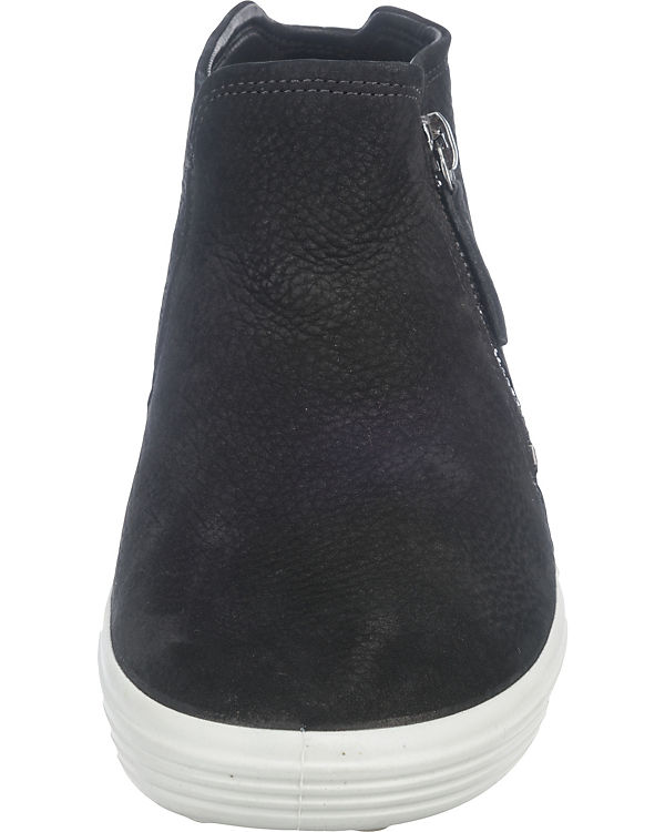 Ladies Soft On 7 Samba Black schwarz Chagall Sneaker ecco Slip Powder gqEdcg4