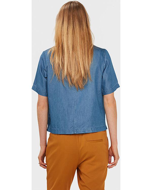 Jeansbluse WE Fashion blau Jeansbluse WE Fashion blau p0TxnPp