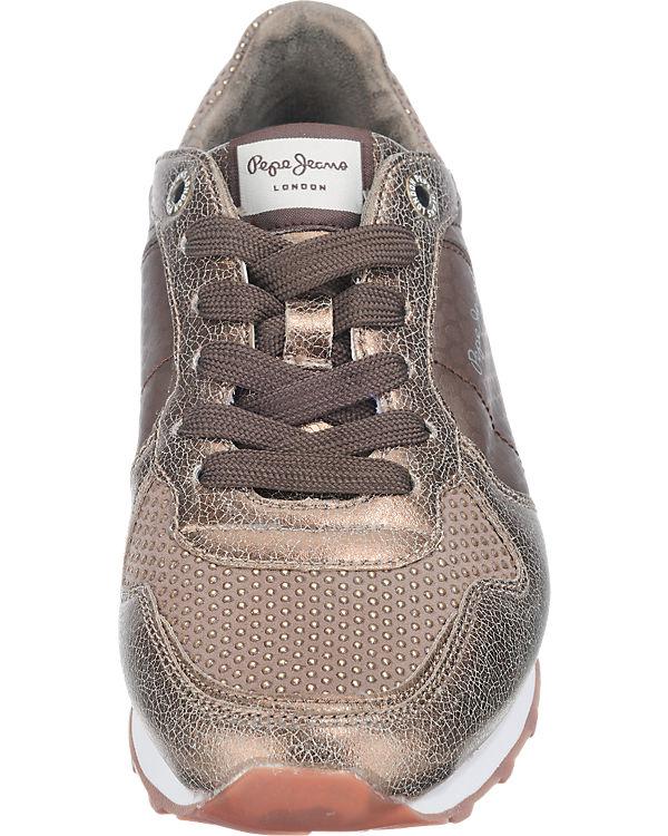 Pepe Jeans Pepe Jeans Verona Remake Sneakers braun