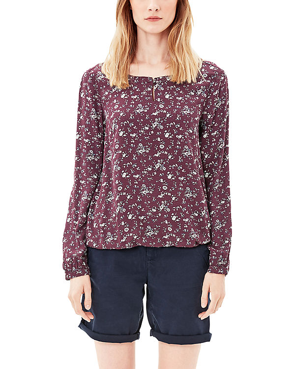 Bluse s Oliver Oliver rot s TZqwaY0