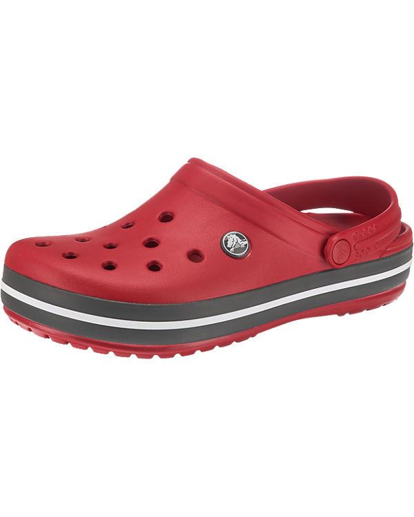 crocs Crocband Clogs rot-kombi