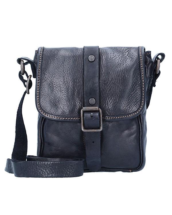 Campomaggi Assenzio Umhängetasche Leder 24 cm schwarz