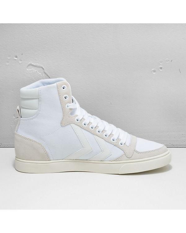 hummel hummel Slimmer Stadil Tonal High Sneakers weiß