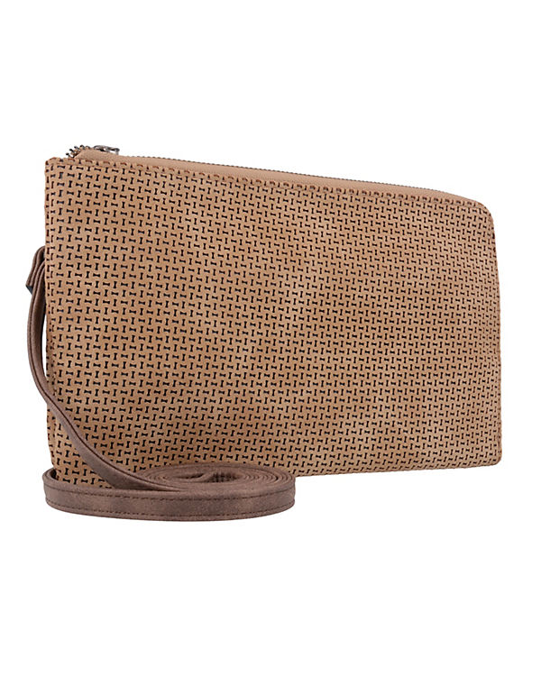 Suri Frey Izzy Clutch Tasche 25 cm braun