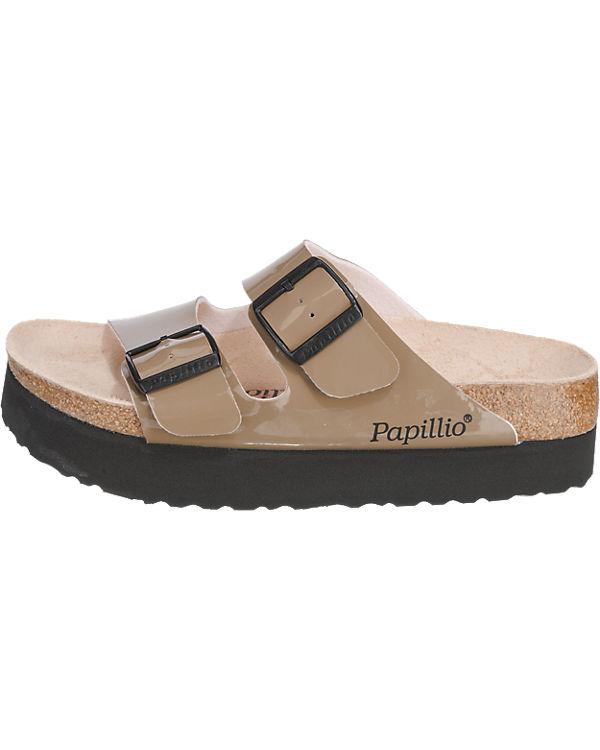 Papillio BIRKENSTOCK, by BIRKENSTOCK, Papillio Papillio Arizona Pantoletten, beige 9950bc