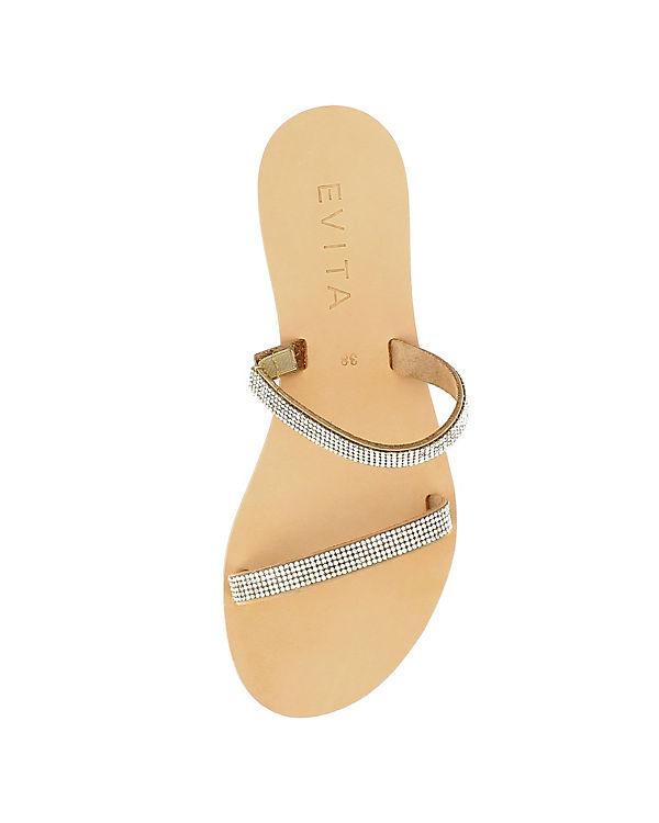 Evita Evita Shoes Shoes creme Sandalen 5qqnprgF