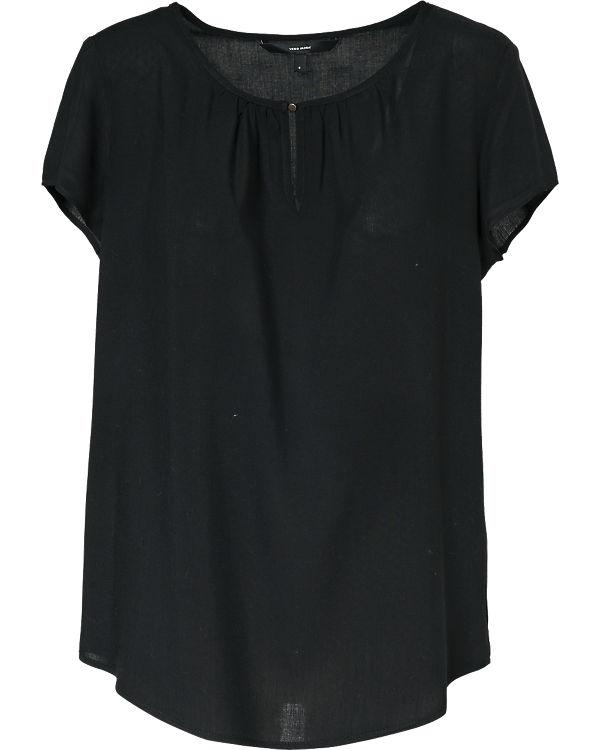 VERO MODA Blusenshirt schwarz
