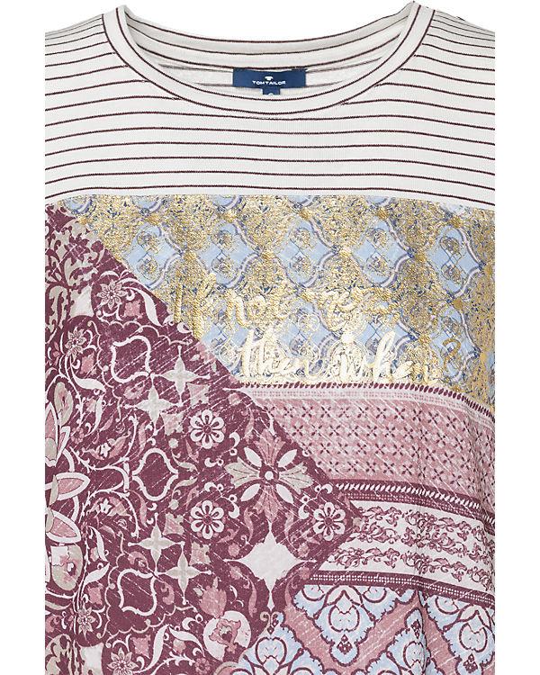 T TOM TOM TAILOR dunkelrot Shirt dunkelrot TOM Shirt dunkelrot TAILOR T Shirt T TAILOR TOM w8AWB