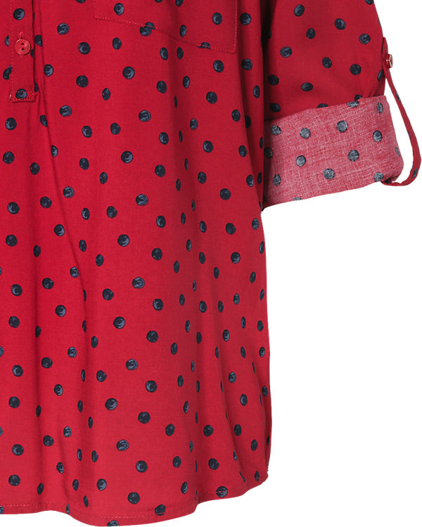 TOM TAILOR Bluse rot