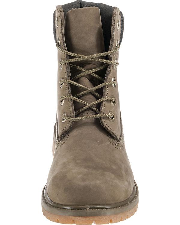 Timberland Boot Premium grau 6in Schnürstiefeletten RRSnTr