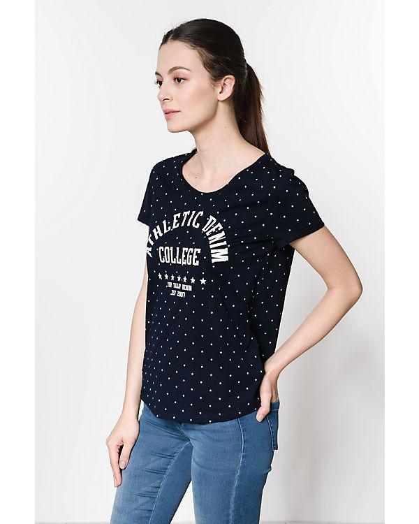 T Shirt TAILOR TOM dunkelblau Denim TzUHw