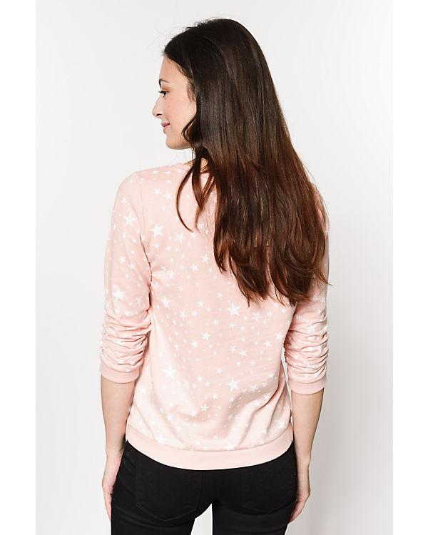 Sweatshirt rosa Denim Sweatshirt TOM TAILOR TOM TAILOR rosa Denim TOM arHt4H