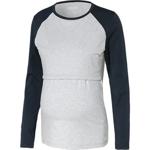 boob Stilllangarmshirt, Organic Cotton grau Dam...