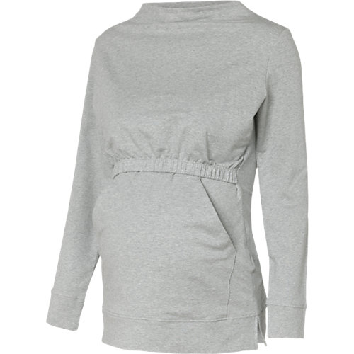 boob Stillpullover, Organic Cotton grau Damen G...