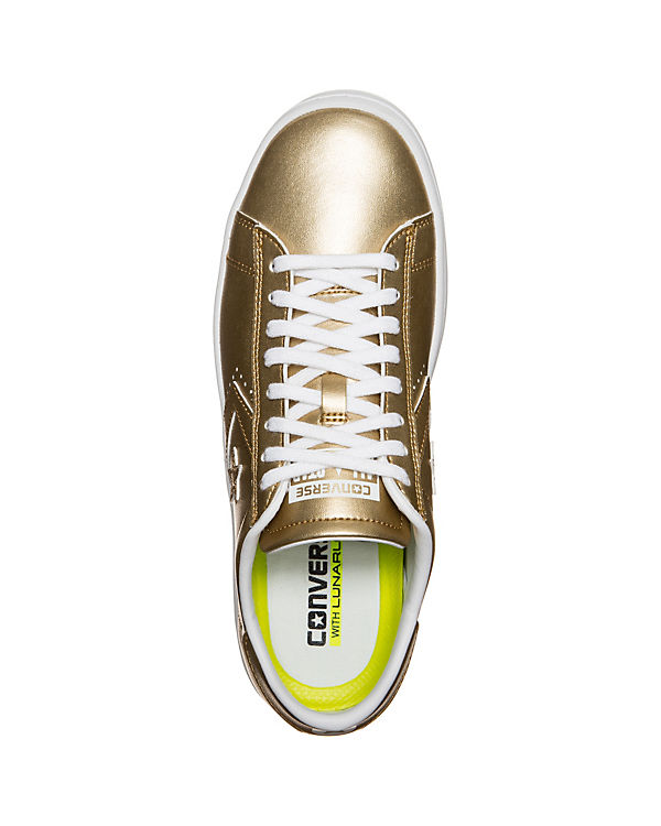 Metallic CONVERSE Converse Converse CONVERSE gold Pro LP Sneakers Leather OX q4nY1dFw