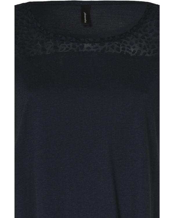 Soyaconcept T-Shirt dunkelblau Günstig Kaufen Mit Kreditkarte Für Billigen Rabatt Alle Jahreszeiten Verfügbar Günstig Kaufen Low-Cost YLoAK4