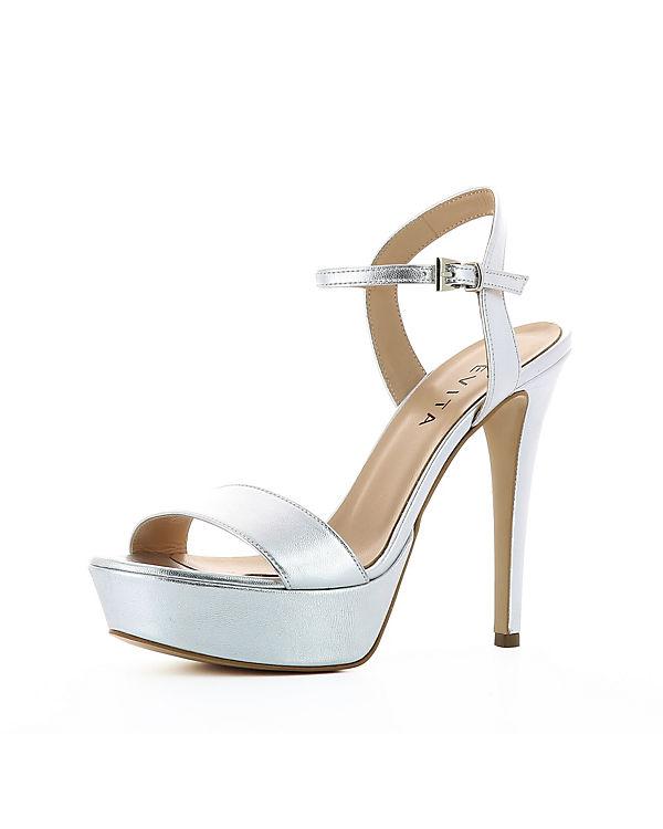 Evita Evita silber Sandaletten Shoes Shoes vawg1