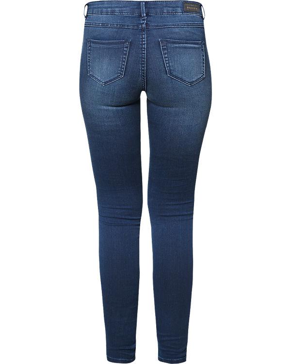 REVIEW Jeans Skinny blau