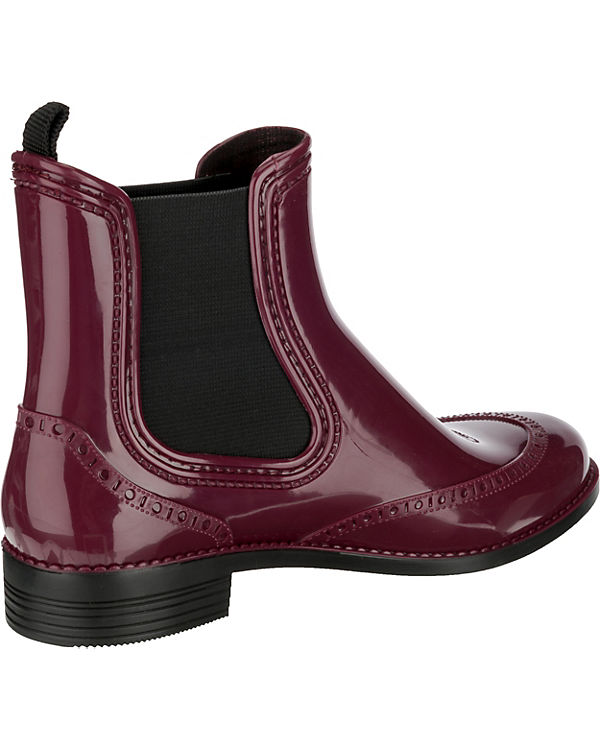 Beck City Gummistiefel bordeaux