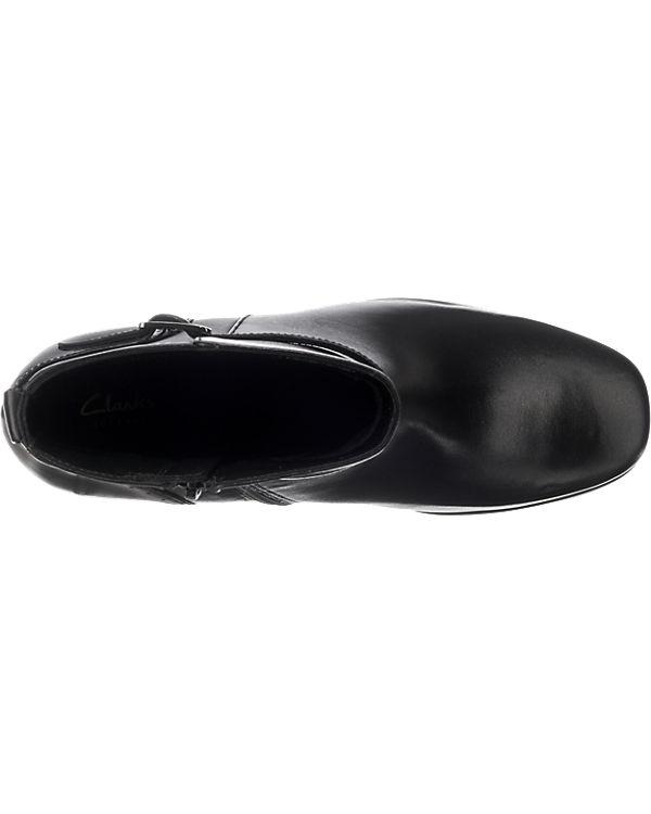 Clarks, schwarz Clarks Kensett Diana Stiefeletten, schwarz Clarks, 061cf1