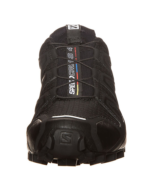 Salomon, Laufschuh, Salomon Speedcross 4 Trail Laufschuh, Salomon, schwarz 3c7525