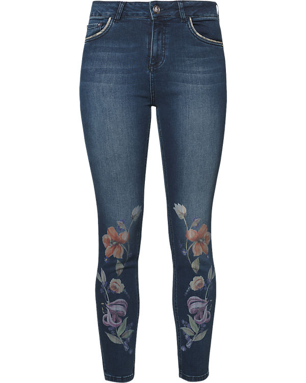 Desigual Jeans Slim blau