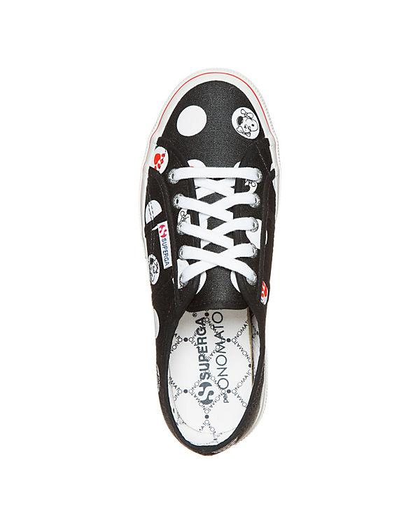 Superga Damen Fancot 2750 Superga® schwarz Belle Sneaker TyqcAHO