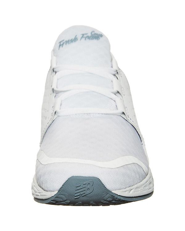 new Foam balance, New Balance Fresh Foam new Cruz Laufschuh, weiß a1b992