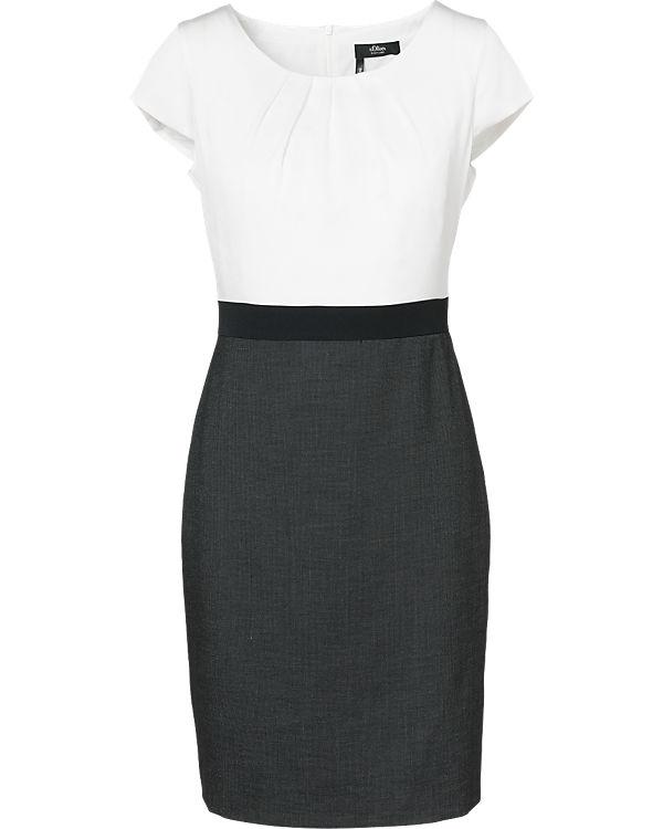 S oliver premium kleid schwarz