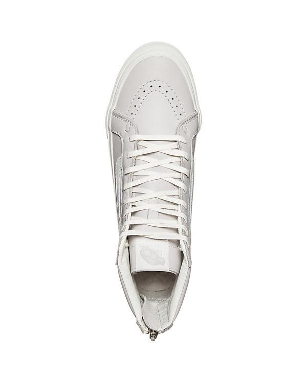 VANS Vans Sk8-Hi Slim Zip Sneaker hellgrau