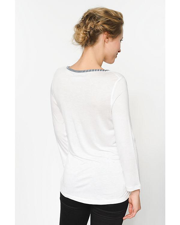 Arm Desigual 3 weiß 4 Shirt qw8w17