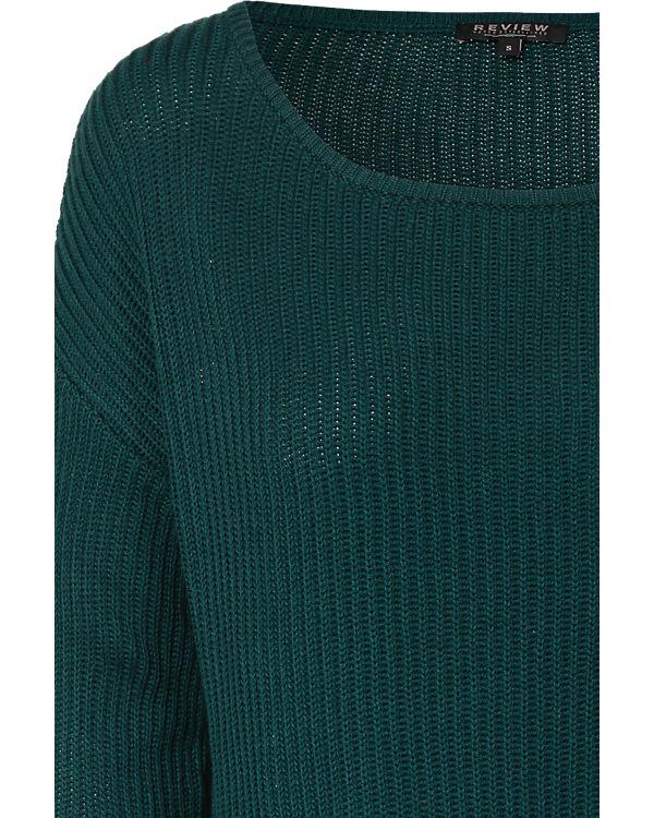 REVIEW Pullover dunkelgrün