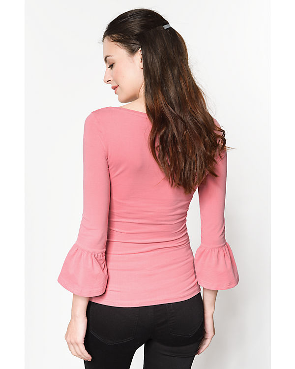 REVIEW 3/4-Arm-Shirt rosa