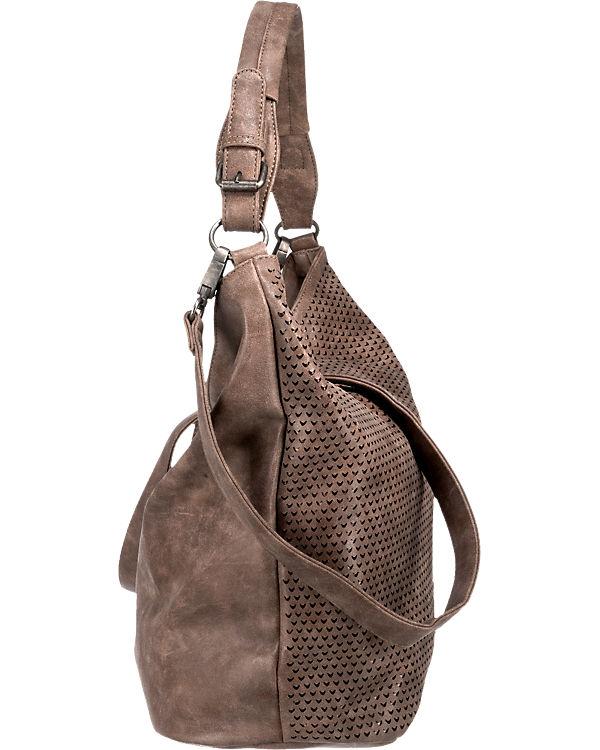 Fritzi aus Preu脽en Felisa Handtasche braun