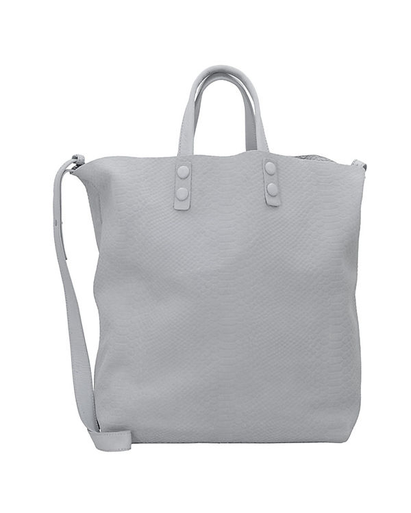 Marc O'Polo Eleven I Shopper Tasche Leder 36 cm grau