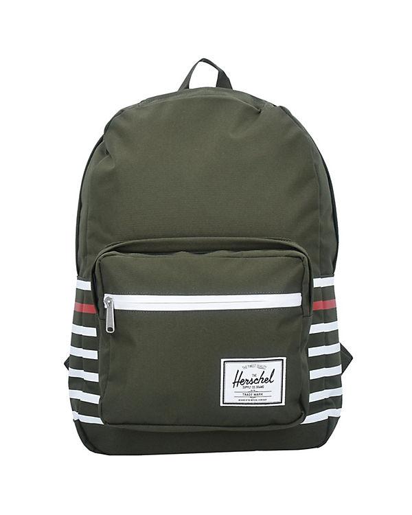 Herschel Pop Quiz 17 Backpack Rucksack 45 cm Laptopfach grün