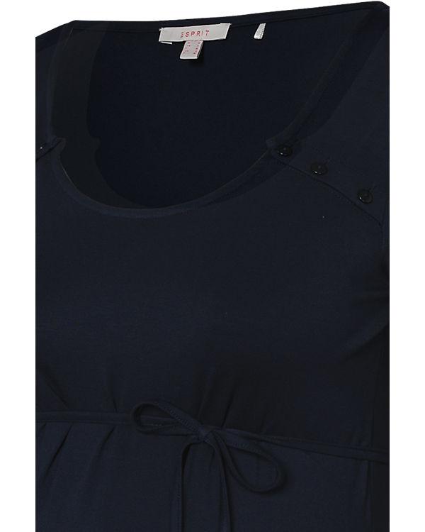 ESPRIT for mums Stillshirt dunkelblau
