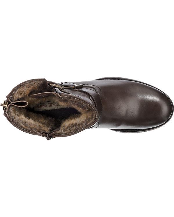 BUFFALO BUFFALO Stiefeletten dunkelbraun Mode Online-Verkauf h7pxnJy