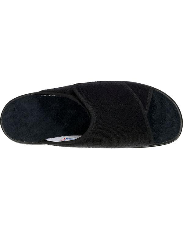 VAROMED, Ibiza    Pantoffeln, schwarz b30614
