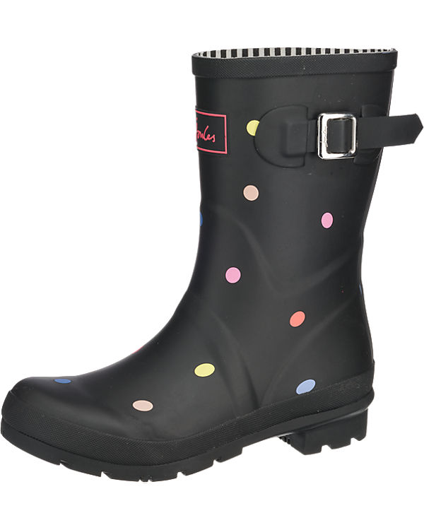 Tom Joule Mid Height Printed Welly Gummistiefel anthrazit
