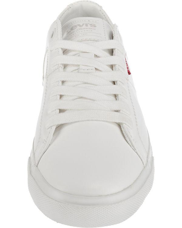 Levi's® Woods W Sneakers Low weiß