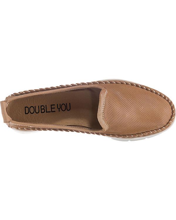 Double You You Double braun braun Bootsschuhe Bootsschuhe qxtIg4w
