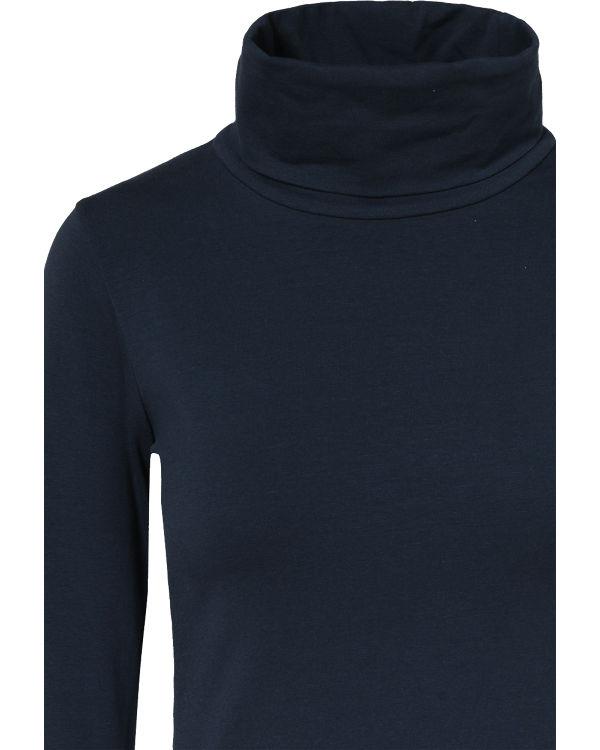 EMOI Rollkragenshirt blau
