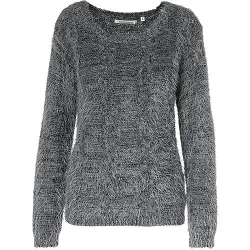 EMOI Pullover grau Damen Gr. 38