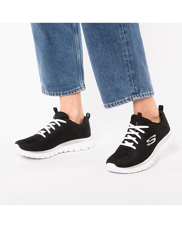 Sneakers schwarz CONNECTED GRACEFUL nbsp;GET Low SKECHERS UqTtvH