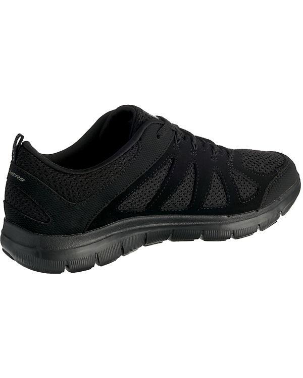 SKECHERS Flex Appeal 2.0 Simplistic Sneakers Low schwarz