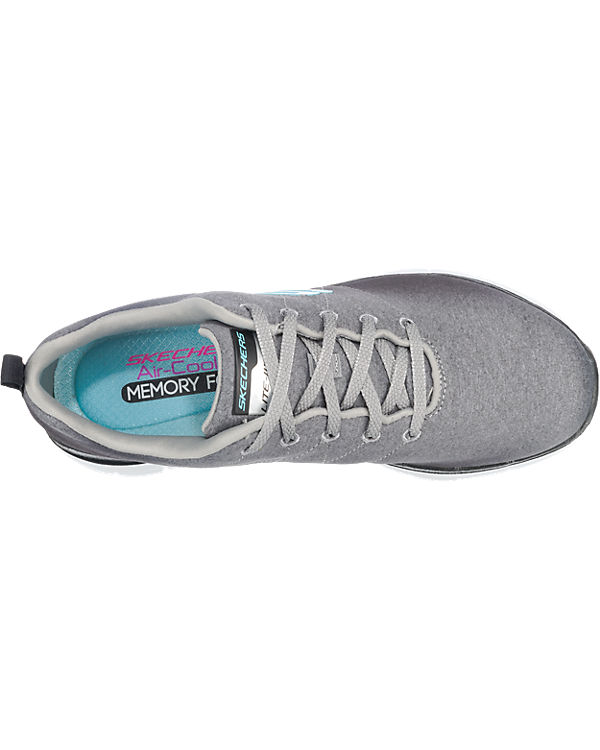 Side Appeal SKECHERS Flex SKECHERS 0 grau Bright 2 Sneakers EEqrzwY